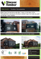 Cape Cod Case Study - Black painted Cape Cod at Pershore, Worcestershire
