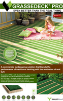 Grassedeck Pro Decking Product Brochure