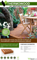 Thermowood Decking Product Brochure
