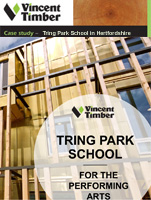 Home Grown Cladding Case Study - Tring Park School